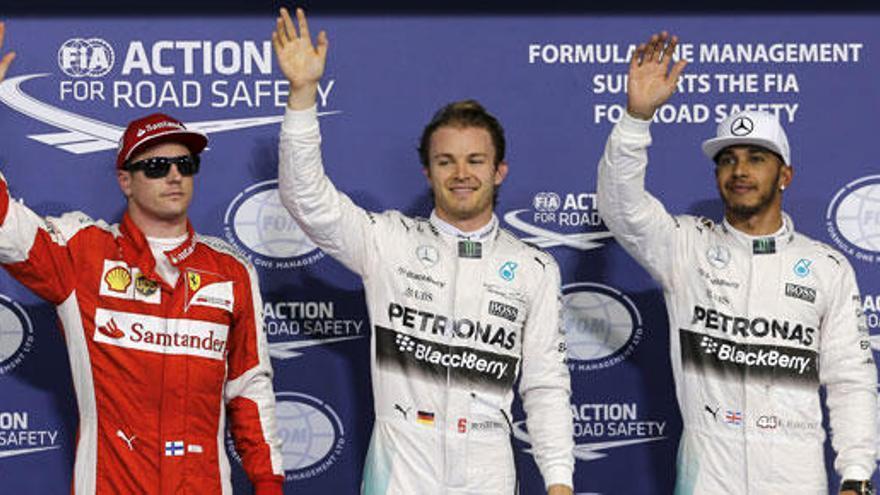 Rosberg certifica su dominio en Yas Marina y logra la pole
