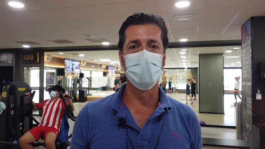"""Fernando Cid de Rivera: """"Me acabo de operar y vengo para recuperar mi espalda"""""""