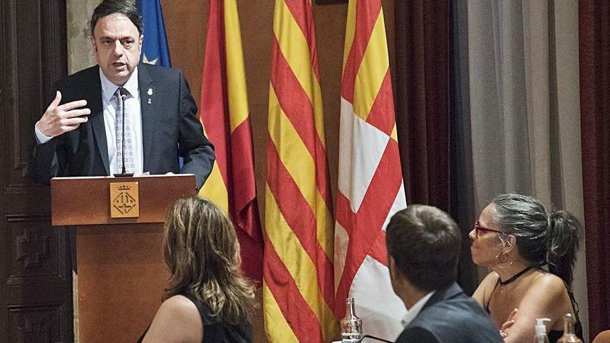 Junyent tanca el seu mandat declarant-se «orgullós de ser un alcalde convergent»