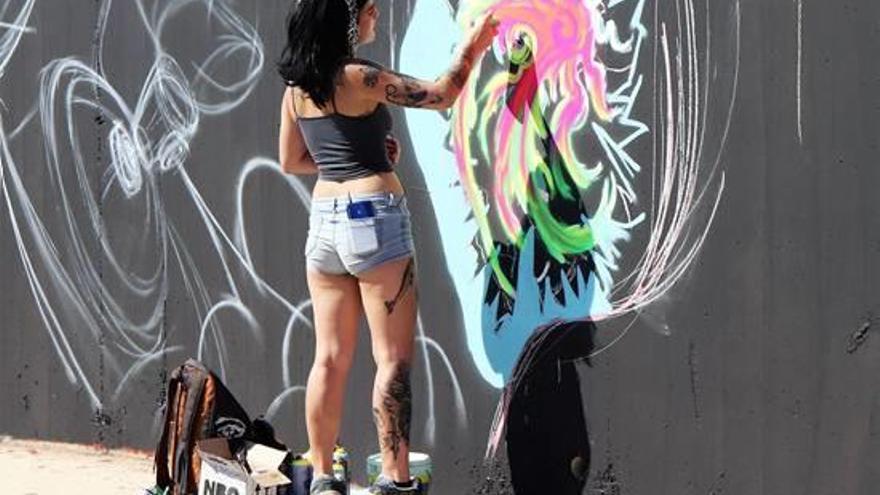 La mujer «grafittera» será protagonista en la tercera edición del RFT