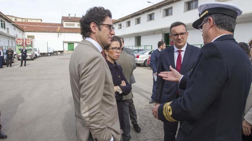 El Ministerio apoya ubicar la Ciudad de la Justicia en la factoría de la Armada