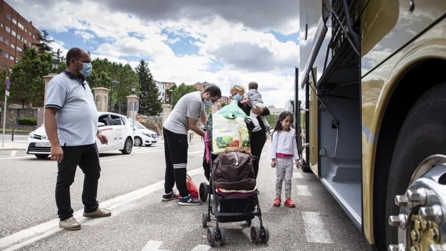 Zamora atrae de nuevo a los inmigrantes, pero sigue con las fugas de población al resto de España