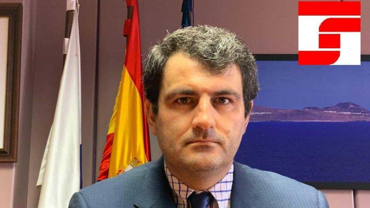 El director territorial de la Seguridad Social en la provincia de Las Palmas, Francisco Ángel Capellán Sanz.