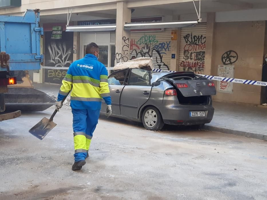 Diese Schäden hinterließ die Windhose auf Mallorca