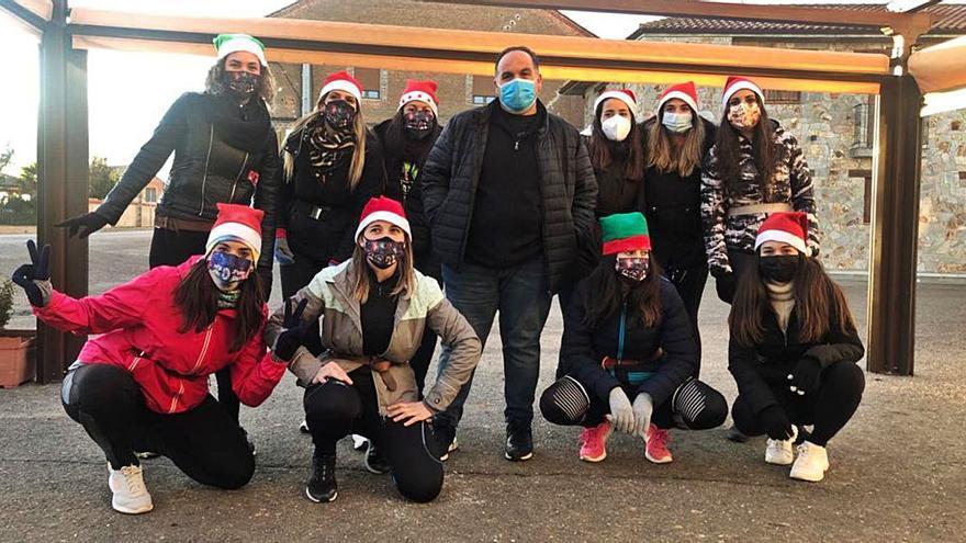Los cencerros suenan en Montamarta en un 1 de enero atípico con el Zangarrón suspendido por la pandemia