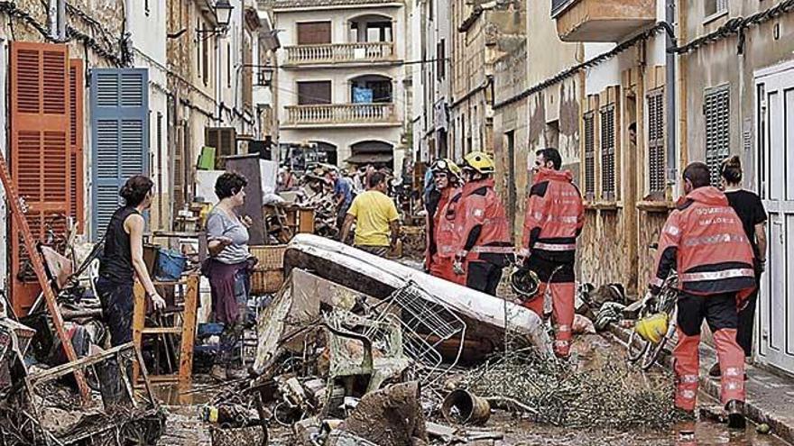 Sant Llorenç devuelve el IBI de 2018 a los afectados por la 'torrentada'