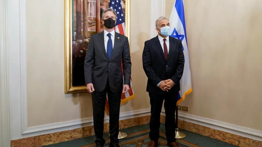 Blinken expresa su compromiso con Israel y urge a reconstruir Gaza