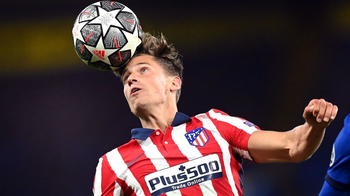 An image of Marcos Llorente, during a match