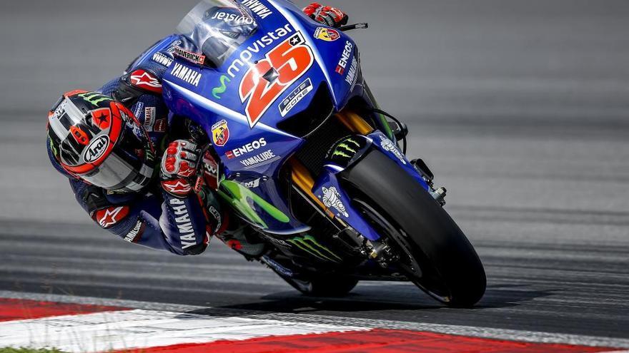 Maverick, el tercer més ràpid en el test de Malàisia