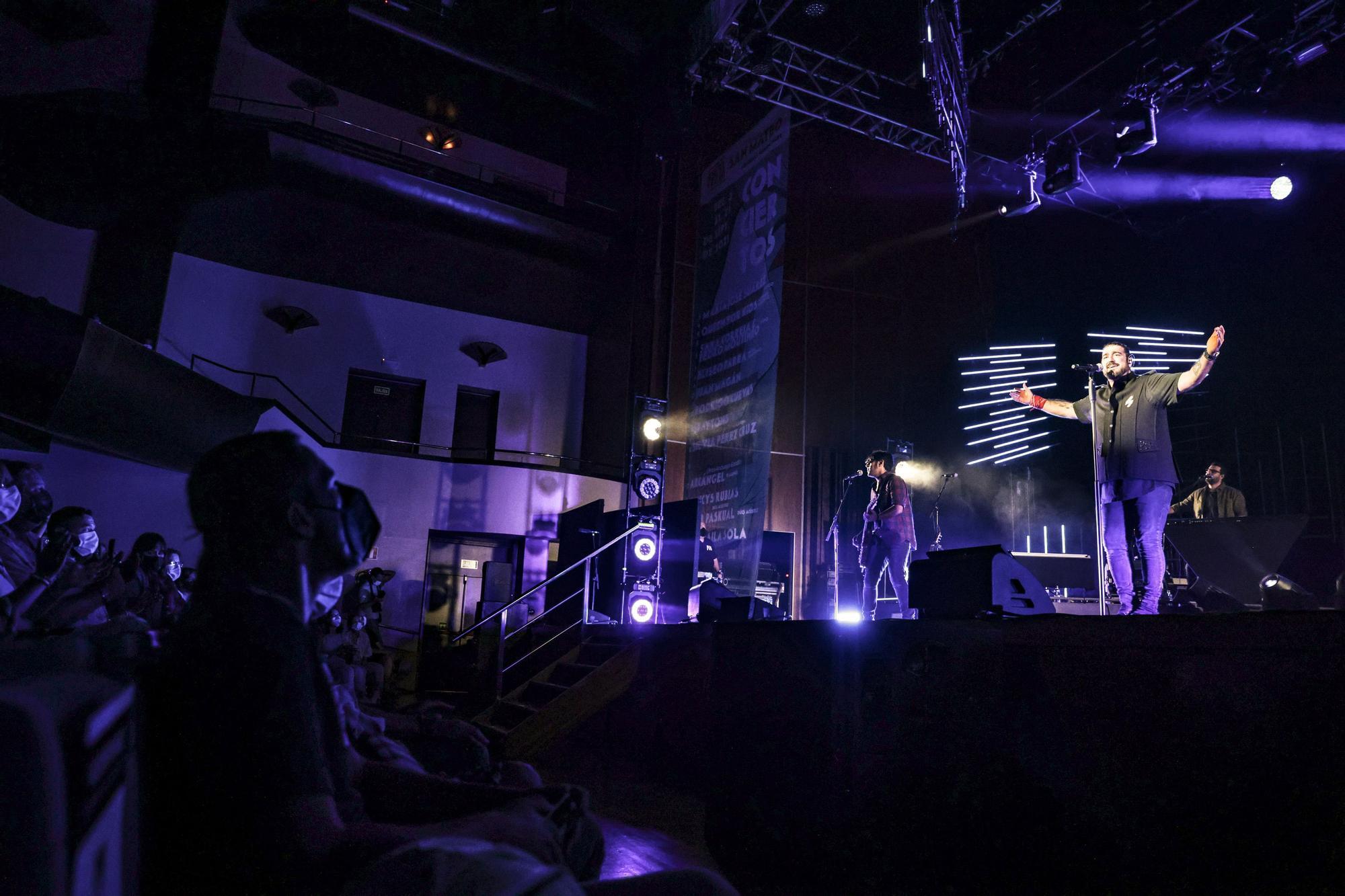 Así fue el concierto de Antonio Orozco en el Auditorio