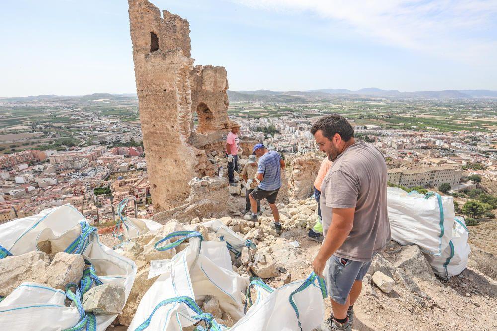 Comienzan las obras de la Torre Taifal de Orihuela