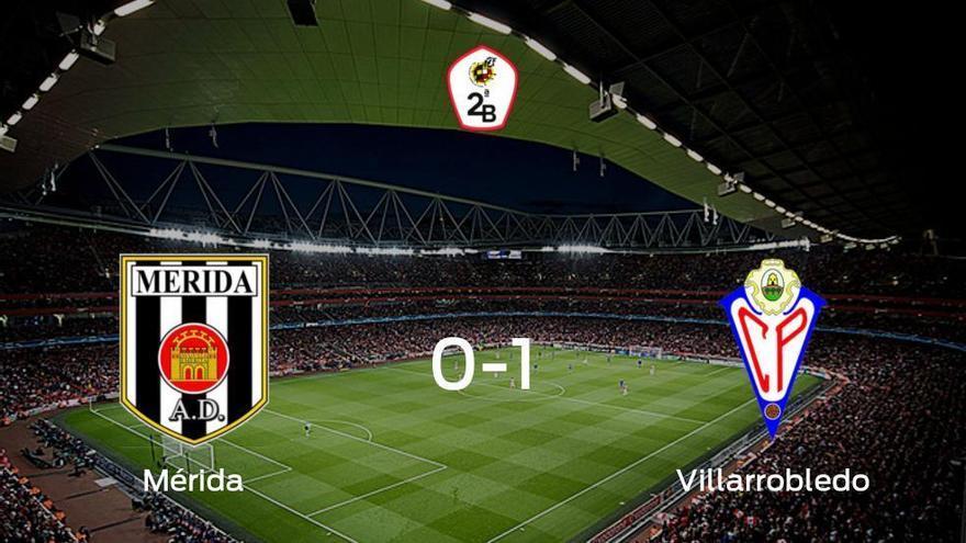 El Villarrobledo se impone al Mérida AD y consigue los tres puntos (0-1)