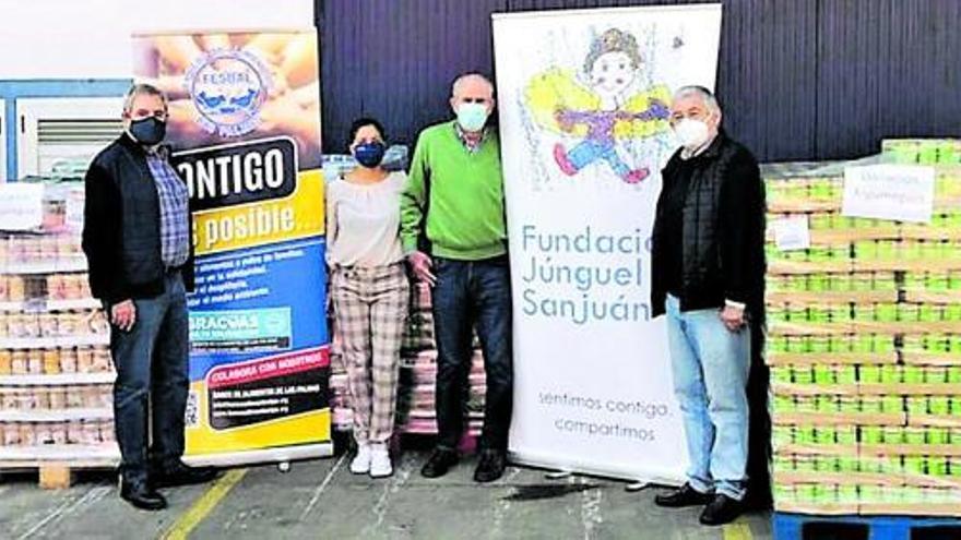 La solidaridad del Grupo Satocan crece en los últimos 12 meses