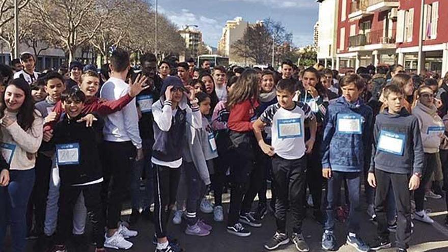 'Gotes per al Níger' en el IES Francesc Borja Moll