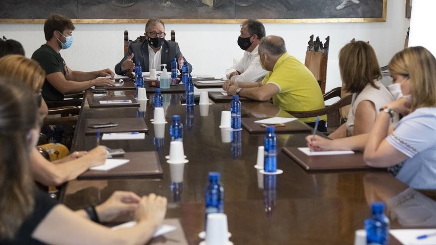 La Diputación de Castellón pacta la carrera profesional pública con los sindicatos