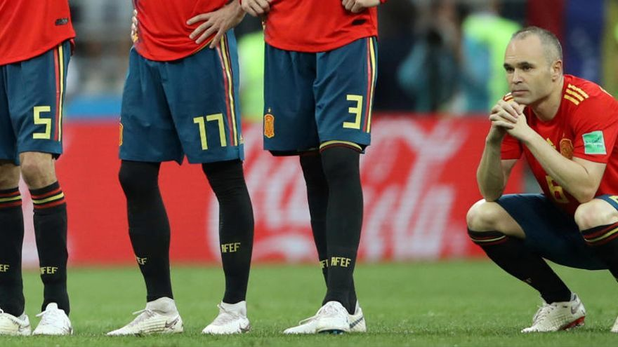 Iniesta: «És el meu últim partit amb la selecció, no hem estat a l'alçada»