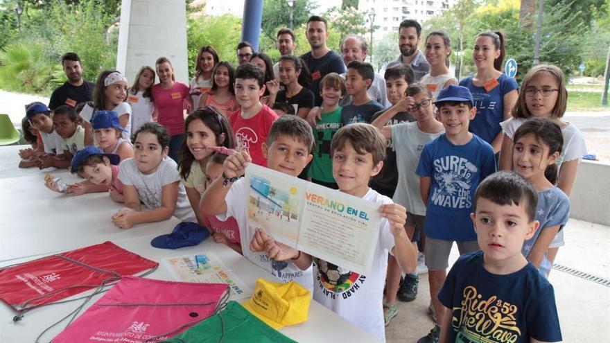 Ocio y conciliación familiar para 120 menores en el Centro de Educación Vial