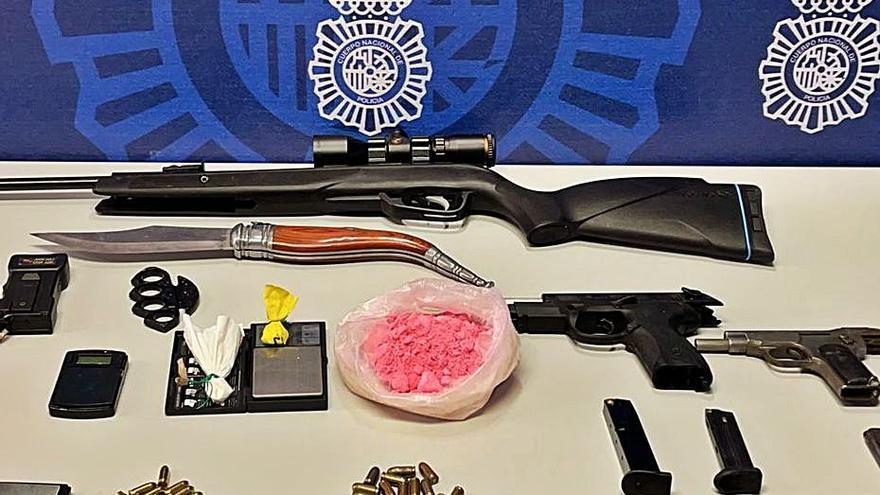 La «cocaína rosa», una peligrosa y adictiva droga de diseño, llega a Elche