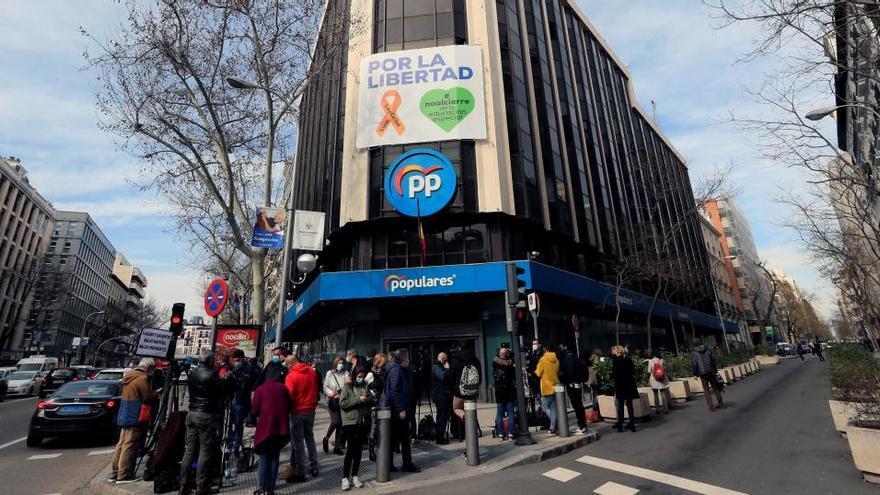 """L'Audiència Nacional condemna al PP per les obres de la seu de Génova pagades en """"B"""""""