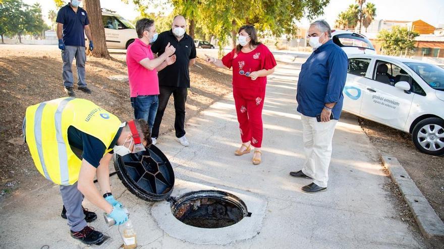 Alcàsser rastrea el coronavirus en sus aguas residuales