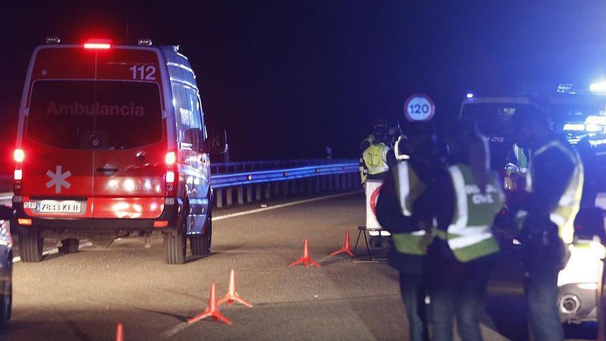 Muere un guardia civil de tráfico atropellado en Asturias