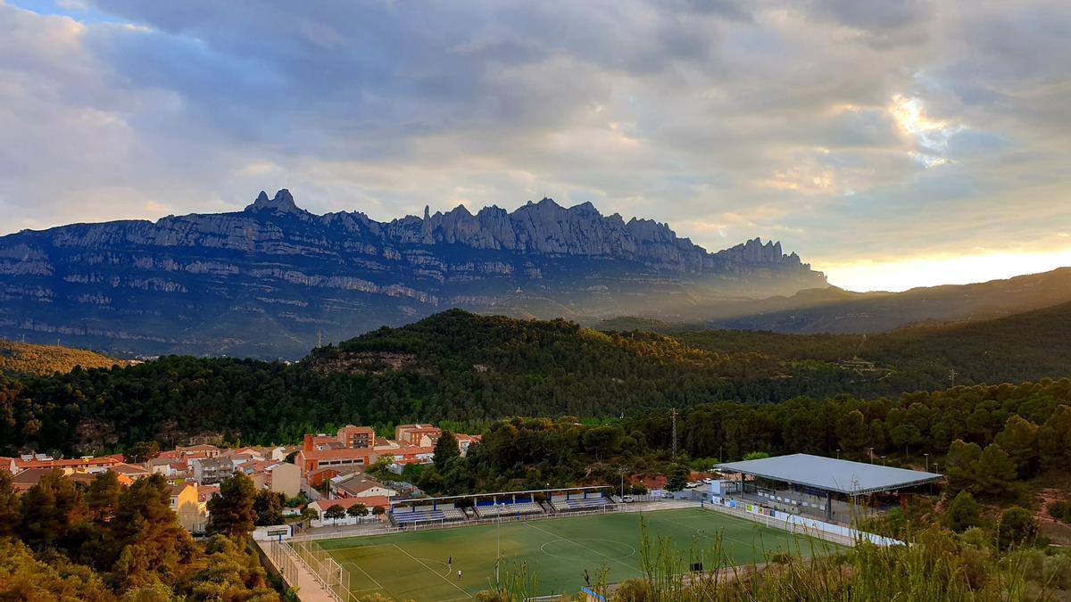 Camp de futbol de Castellbell i el Vilar