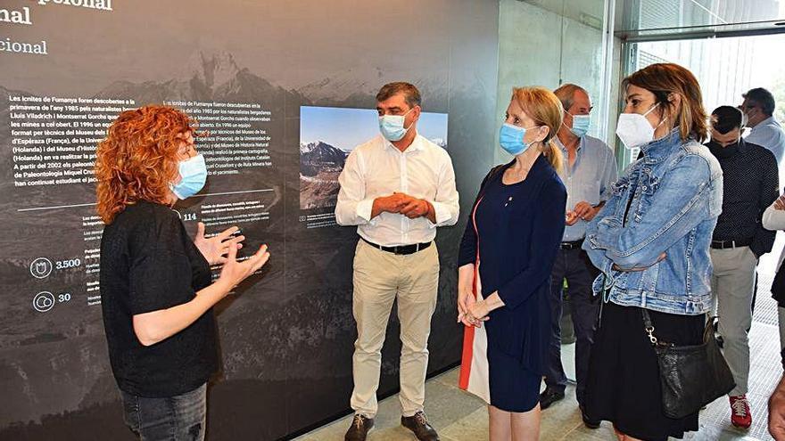 El Centre de Dinosaures s'adapta al llenguatge de signes i subtitulat