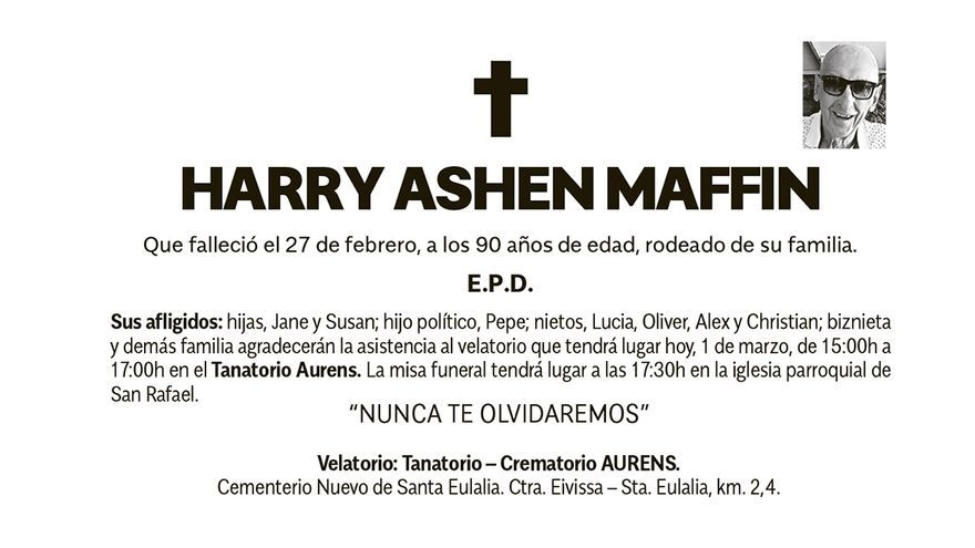 Don Harry Ashen Maffin