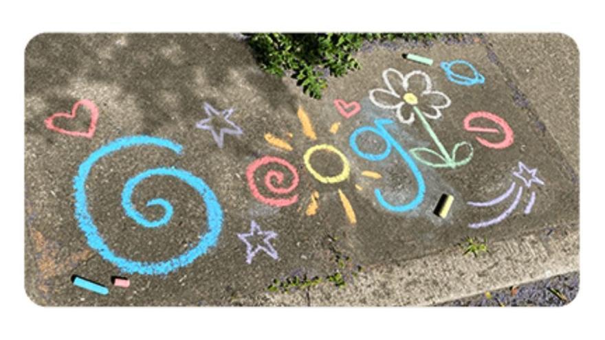 Google dedica su doodle al Día del Niño