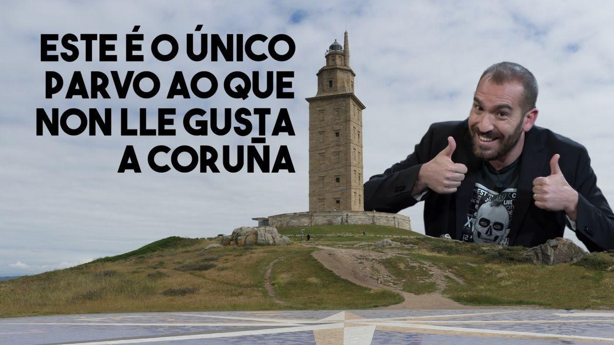 Uno de los carteles de la Diputación de A Coruña para 'La resistencia'