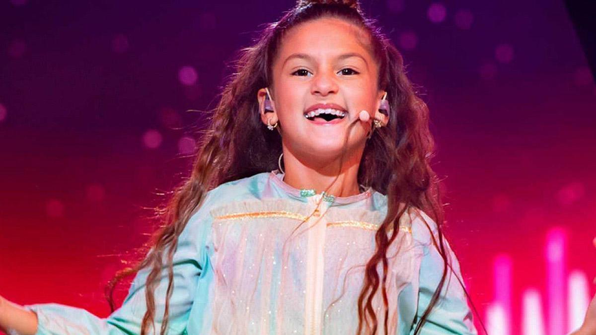 Soleá Fernández, en Eurovisión Junior 2020.