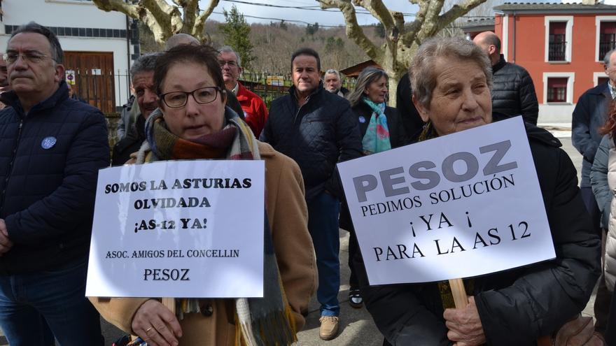 Valles del Navia desconfía del compromiso con las obras de la carretera AS-12