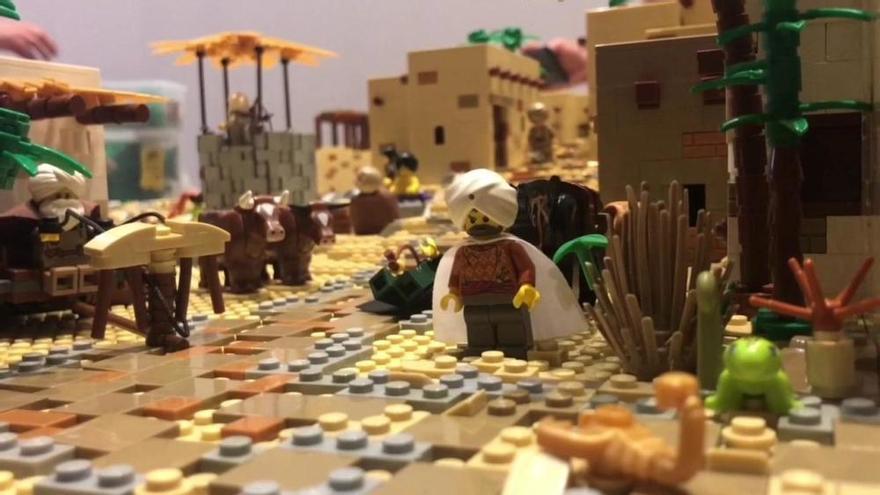 Vuelve el genial LEGO belén al Museo Etnográfico