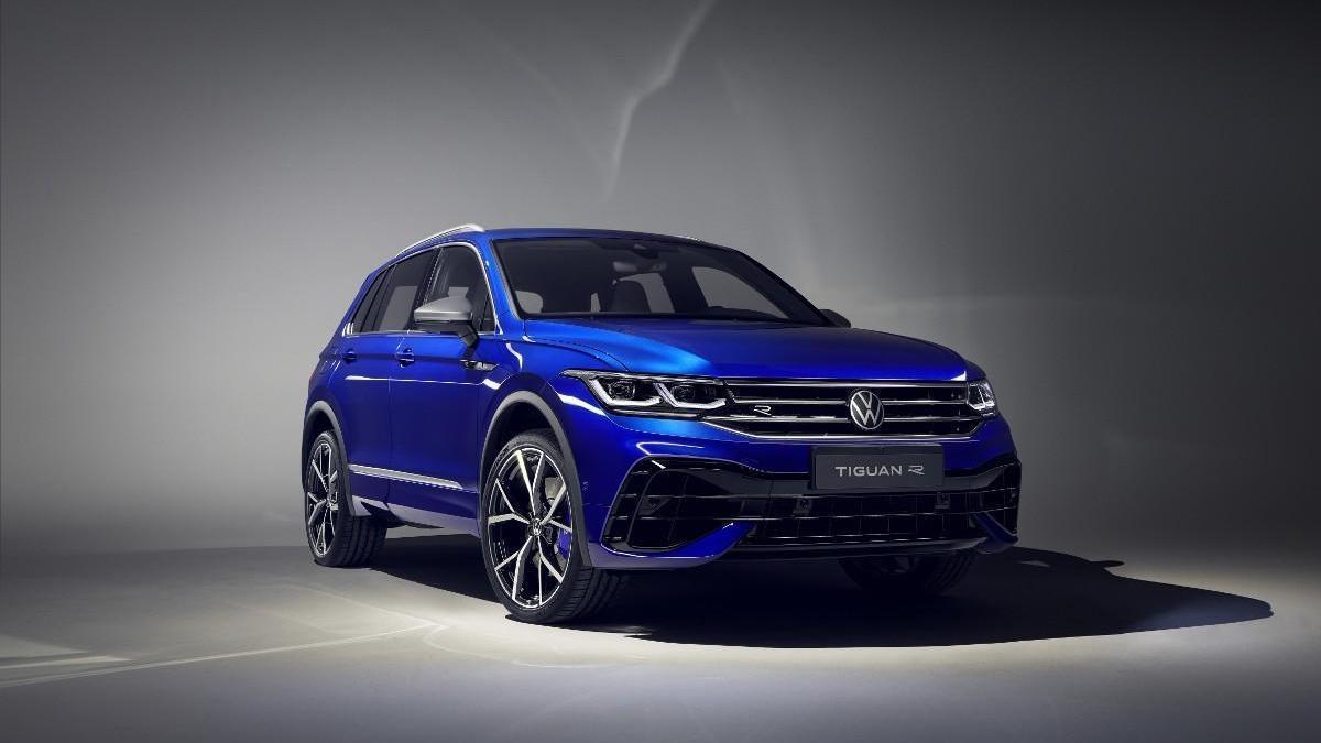 Llega el primer Volkswagen Tiguan R, con 320 CV de potencia
