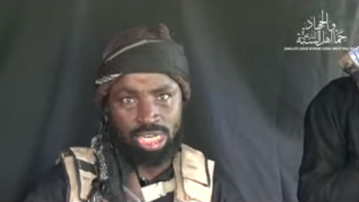 El líder de Boko Haram, Abubakar Shekau.