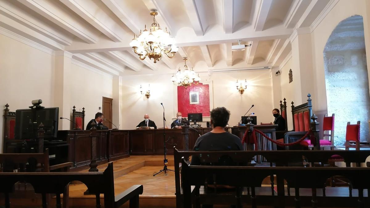 Un momento del juicio celebrado en Zamora.