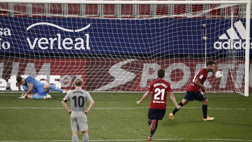 El Osasuna suma tres puntos ante el Athletic