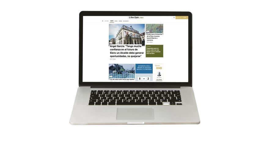 Nace LA NUEVA ESPAÑA de Siero, primera edición nativa digital del periódico líder