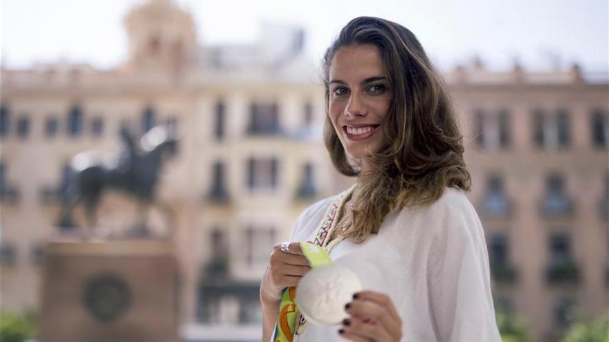 Lourdes Mohedano manda su apoyo al Córdoba CF