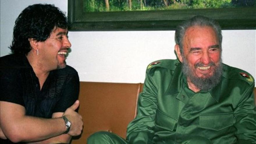 Maradona y Fidel Castro, dos amigos que murieron el mismo día
