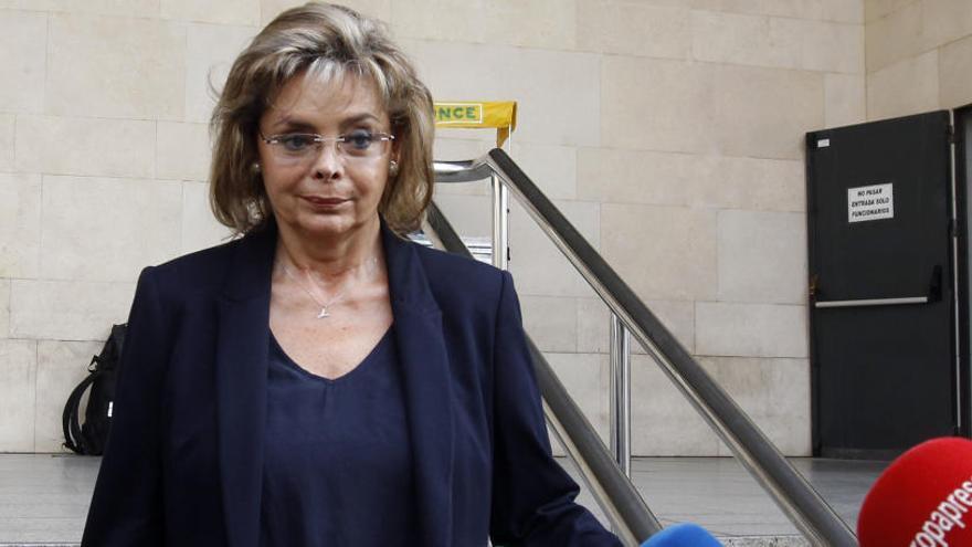 Muere María José Alcón, la exconcejala que confesó el blanqueo del PP de Valencia