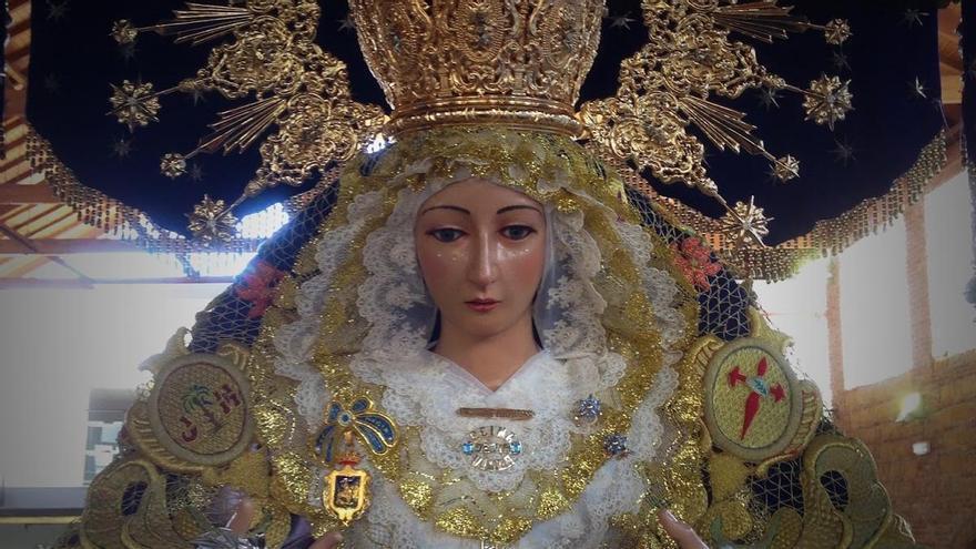 Libertad vigilada a un hombre por arrojar un cóctel molotov contra la Virgen de los Desamparados de Vélez