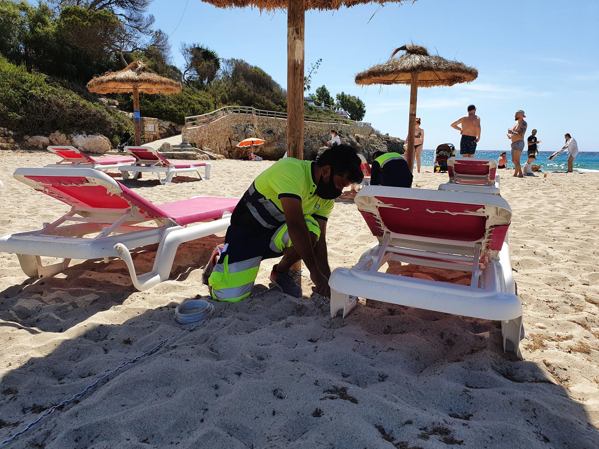 Las playas de Manacor recuperan sus servicios tras municipalizar su gestión