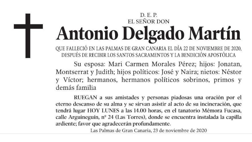 Antonio Delgado Martín
