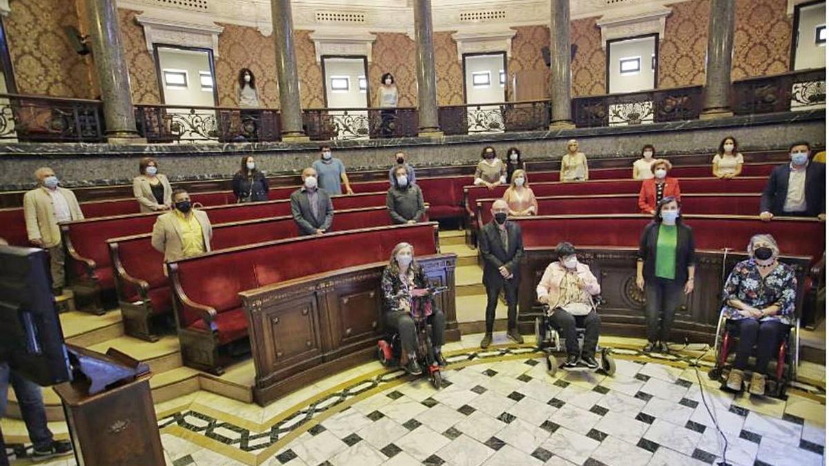 El Consell Municipal de la Discapacitat comenzó a funcionar ayer mismo.   LEVANTE-EMV