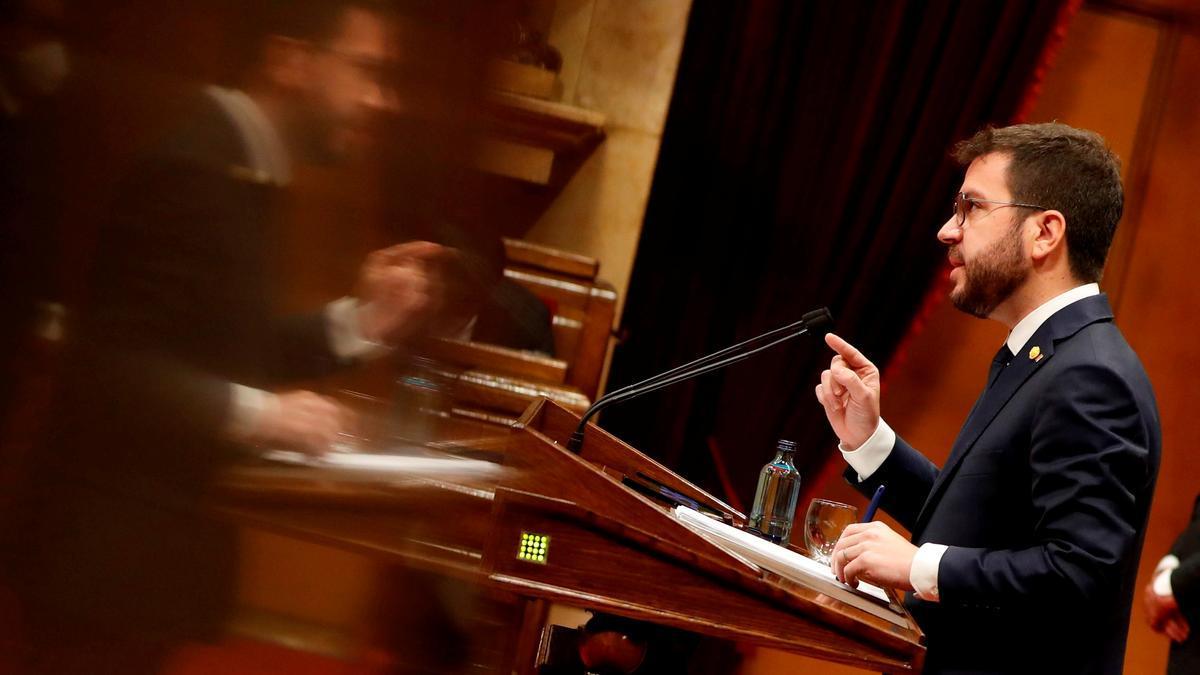 El nuevo presidente de la Generalitat, Pere Aragonès.
