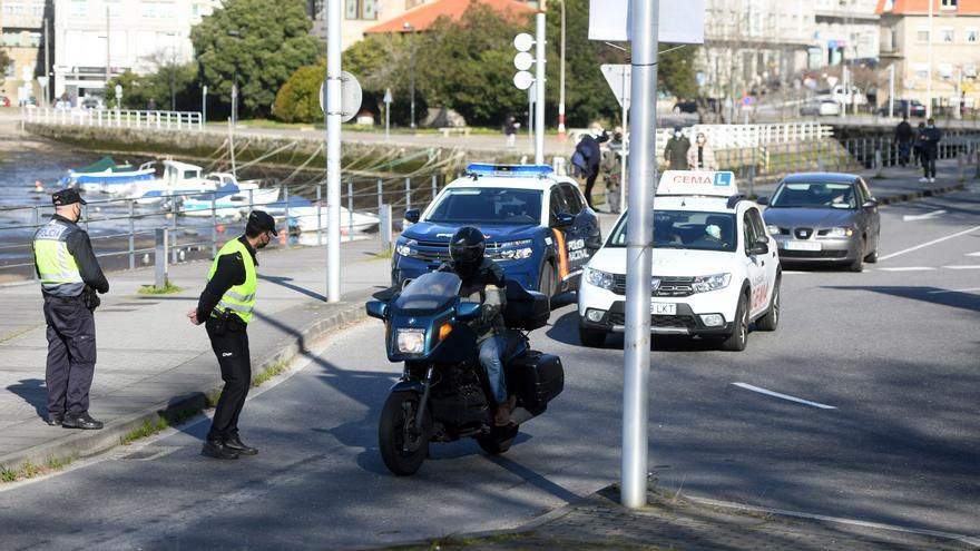 Fin de semana de infracciones en Galicia: 512 sancionados por incumplir la normativa COVID