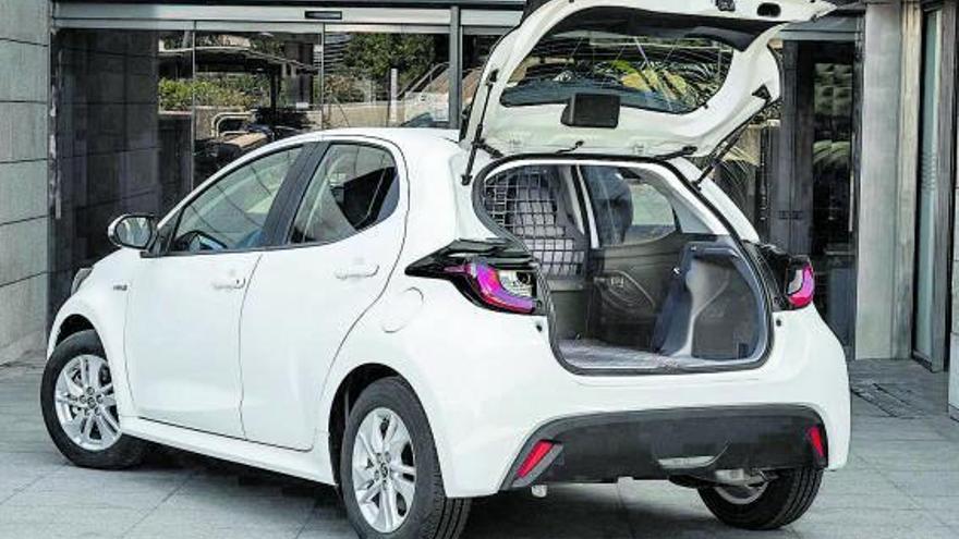 Toyota: Treball més sostenible amb el Yaris Electric Hybrid ECOVan
