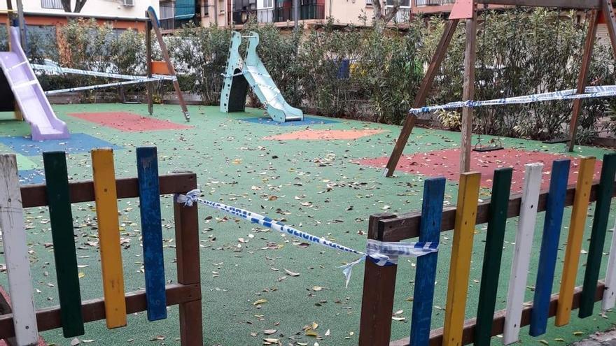 Xirivella prorroga otros quince días el cierre de parques
