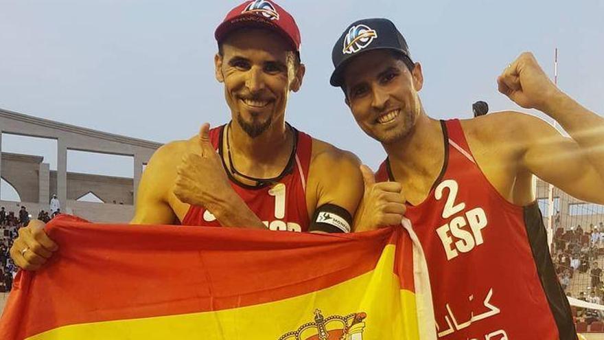 Herrera y Gavira conquistan el bronce en Doha